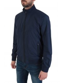 SUPERDRY ΜΠΟΥΦΑΝ BOMBER LIGHTWEIGHT HARRINGTON ΜΠΛΕ