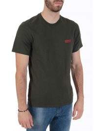 BARBOUR INTERNATIONAL T-SHIRT  SLIM FIT SMALL LOGO ΧΑΚΙ