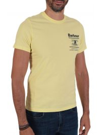 BARBOUR  T-SHIRT TAILORED FIT  CHANONRY ΚΙΤΡΙΝΟ