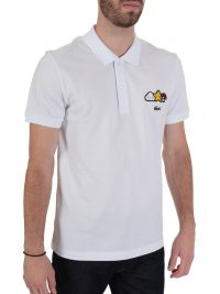 LACOSTE POLO UNISEX FRIENDS WITH YOU ΘΥΡΑΙΟΣ ΛΕΥΚΟ