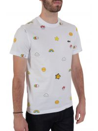 LACOSTE T-SHIRT UNISEX FRIENDS WITH YOU ΛΕΥΚΟ