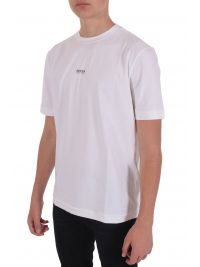 BOSS CASUAL T-SHIRT  TCHUP ΛΕΥΚΟ