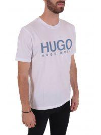 HUGO T-SHIRT DOLIVE204 ΛΕΥΚΟ