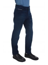 BOSS ΠΑΝΤΕΛΟΝΙ JEANS MAINE REGULAR FIT EXTRA STRETCH FIT ΜΠΛΕ