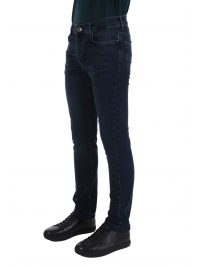 NAVY & GREEN ΠΑΝΤΕΛΟΝΙ JEANS STRETCH LOW WAIST ΜΠΛΕ