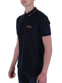 BOSS POLO PADDY PRO REGULAR FIT BLUE GOLD CAPSULE ΜΠΛΕ