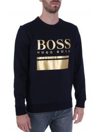 BOSS ATHLEISURE ΦΟΥΤΕΡ SALBO 1 BLUE GOLD CAPSULE ΜΠΛΕ