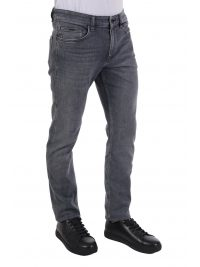 BOSS ΠΑΝΤΕΛΟΝΙ JEANS DELAWARE3 SLIM FIT ΓΚΡΙ