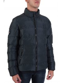 SUPERDRY ΜΠΟΥΦΑΝ ULTIMATE RADAR QUILT JACKET ΓΚΡΙ