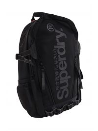 SUPERDRY ΤΣΑΝΤΑ BACKPACK COMBRAY TARP ΜΑΥΡΟ