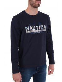 NAUTICA T-SHIRT SAILING SERIES ΜΠΛΕ