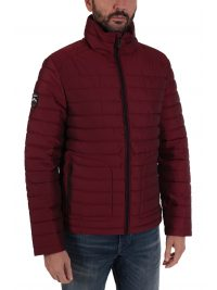 SUPERDRY ΜΠΟΥΦΑΝ DOUBLE ZIP FUJI JACKET ΜΠΟΡΝΤΩ