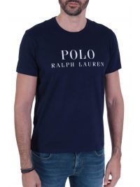 RALPH LAUREN SLEEP TOP T-SHIRT ΜΕ ΛΟΓΟΤΥΠΟ NAVY ΜΠΛΕ