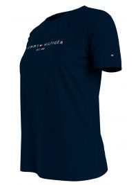 TOMMY HILFIGER T-SHIRT NEW THE SS HILFINGER C-NECK TEE ΜΠΛΕ