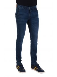 US POLO ASSN ΠΑΝΤΕΛΟΝΙ JEANS CHINO SLIM FIT ΜΠΛΕ