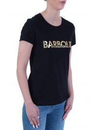 BARBOUR INTERNATIONAL T-SHIRT DELTA ΜΑΥΡΟ