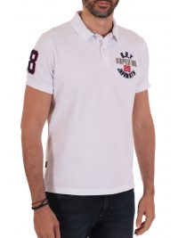 SUPERDRY POLO CLASSIC SUPERSTATE ΛΕΥΚΟ