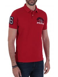 SUPERDRY POLO CLASSIC SUPERSTATE ΚΟΚΚΙΝΟ