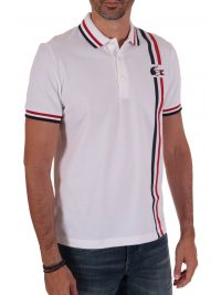 LACOSTE POLO HERITAGE FRENCH SPORTING ΛΕΥΚΟ
