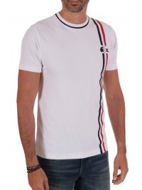LACOSTE T-SHIRT HERITAGE FRENCH SPORTING ΛΕΥΚΟ