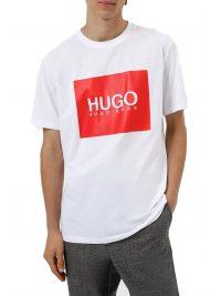 HUGO T-SHIRT DOLIVE214 ΛΕΥΚΟ