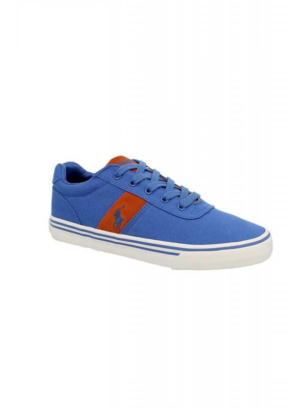 RALPH LAUREN SHOES ΠΑΠΟΥΤΣΙΑ SNEAKERS HANFORD-NE ΡΟΥΑ ΜΠΛΕ