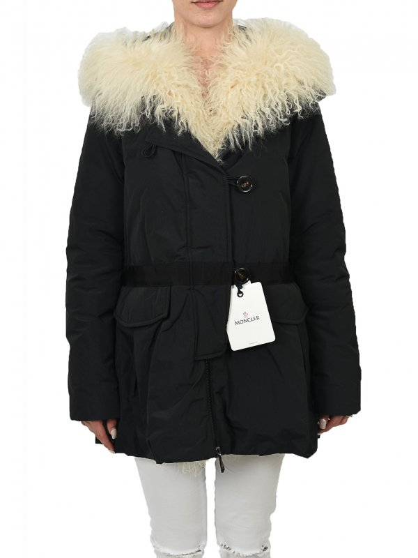 02feee1576d9 MONCLER ΜΠΟΥΦΑΝ JACKET ΚΟΥΚΟΥΛΑ ΓΟΥΝΑ VICOMTE ΜΑΥΡΟ - A2 093 4932610 ...