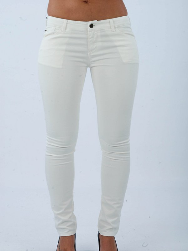 ARMANI JEANS ΠΑΝΤΕΛΟΝΙ JEANS 123 LILY PUSH UP FIT ΛΕΥΚΟ