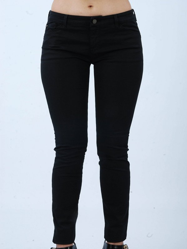 ARMANI JEANS ΠΑΝΤΕΛΟΝΙ JEANS 123 LILY PUSH UP FIT ΜΑΥΡΟ