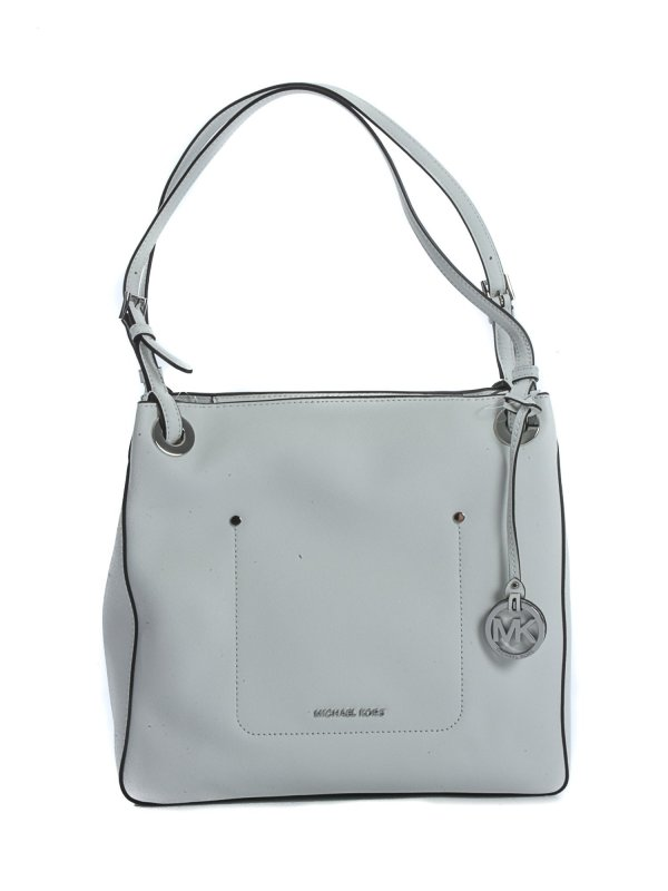 MICHAEL KORS ΤΣΑΝΤΑ MD SHOULDER TOTE WALSH ΛΕΥΚΟ