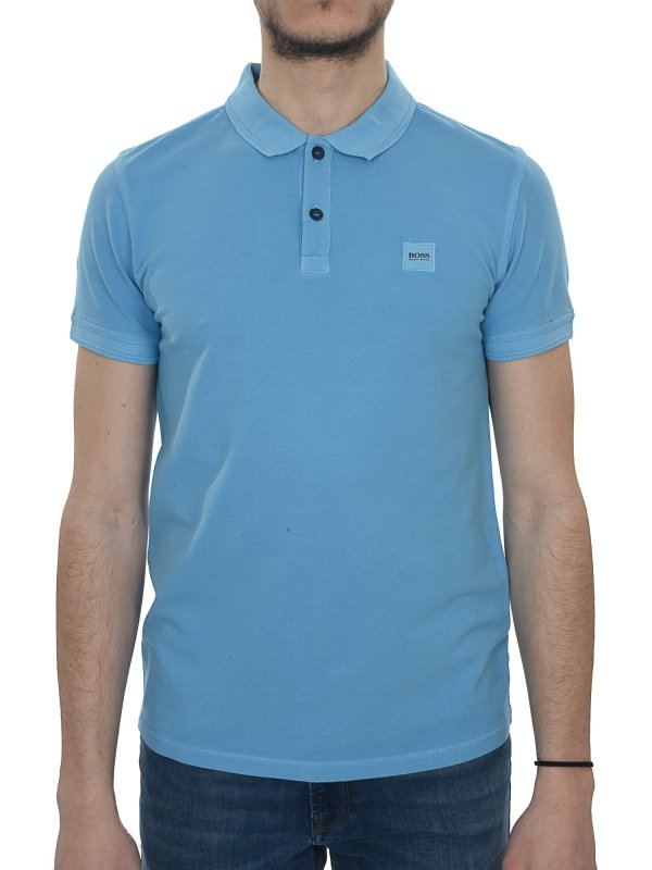 BOSS CASUAL POLO KM PRIME ΣΙΕΛ