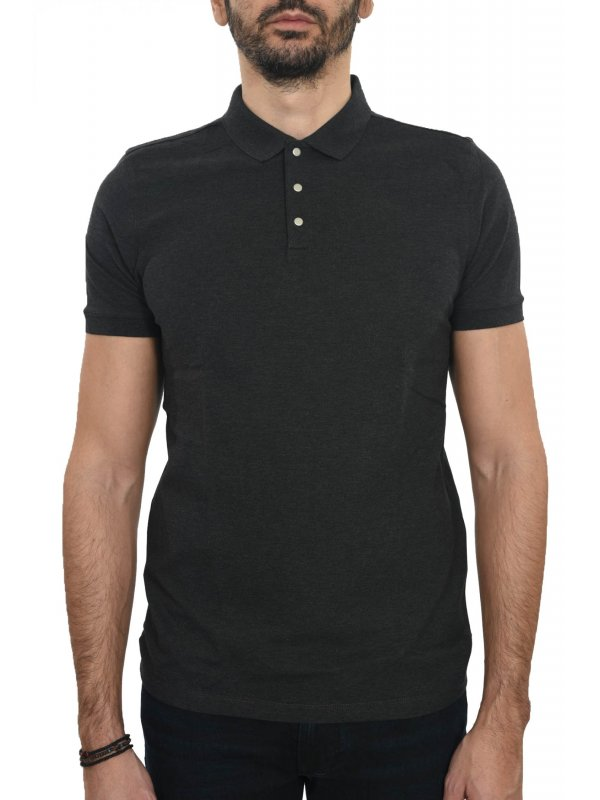SELECTED  POLO KM ΑΝΘΡΑΚΙ