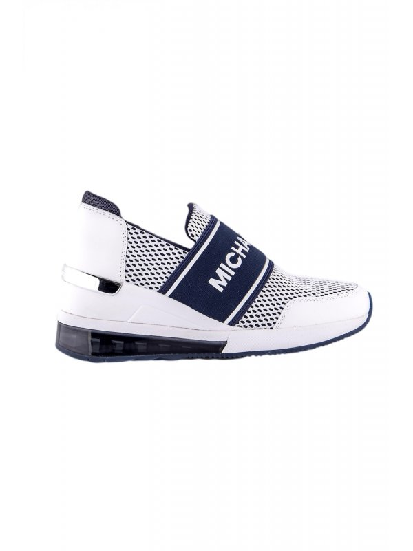 MICHAEL KORS ΠΑΠΟΥΤΣΙΑ SNEAKERS FELIX FELIX BUBBLE TRAINER ΜΠΛΕ