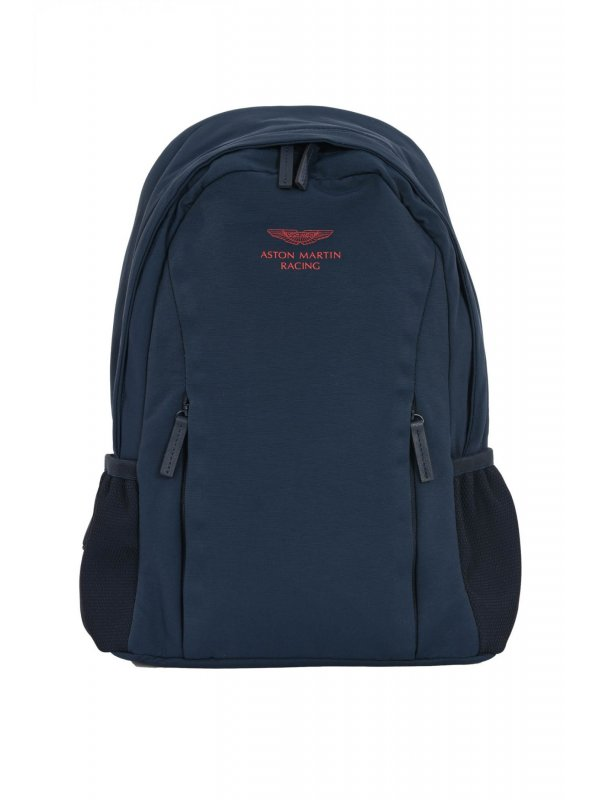 HACKETT ΤΣΑΝΤΑ BACKPACK LOGO AMR ΜΠΛΕ