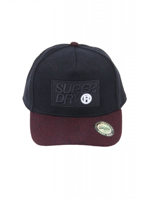 SUPERDRY ΚΑΠΕΛΟ JOCKEY WINTER BASEBALL CAP ΜΠΛΕ