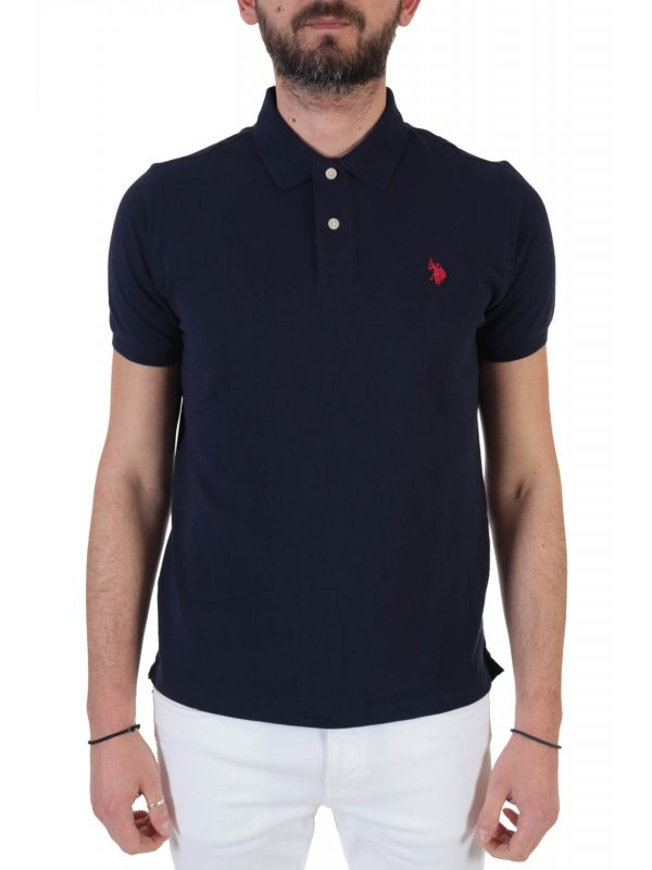 U.S. POLO ASSN POLO INSTITUTIONAL ΜΠΛΕ
