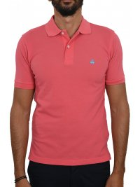 BROOKS BROTHERS BROOKS BROTHERS POLO KM SLIM FIT ΦΟΥΞΙΑ