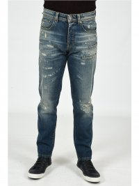 SELECTED SELECTED ΠΑΝΤΕΛΟΝΙ JEANS ΦΘΟΡΕΣ ΜΠΛΕ