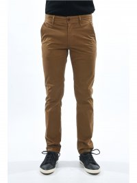 BOSS CASUAL BOSS ORANGE ΠΑΝΤΕΛΟΝΙ CHINO SLIM FIT SCHINO ΚΑΦΕ