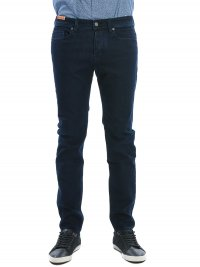 BOSS CASUAL BOSS ΠΑΝΤΕΛΟΝΙ JEANS ORANGE90 TAPERED FIT SUPERSTRETCH ΜΠΛΕ