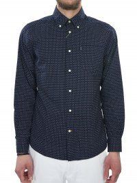BARBOUR BARBOUR ΠΟΥΚΑΜΙΣΟ BUTTON DOWN TAILORED FIT ΜΠΛΕ