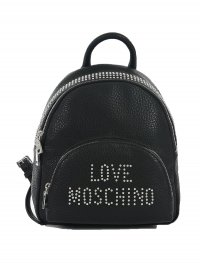 LOVE MOSCHINO MOSCHINO ΤΣΑΝΤΑ BAG PACK ΤΡΟΥΚΣ LOGO ΜΑΥΡΟ