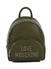 LOVE MOSCHINO MOSCHINO ΤΣΑΝΤΑ BAG PACK ΤΡΟΥΚΣ LOGO ΧΑΚΙ