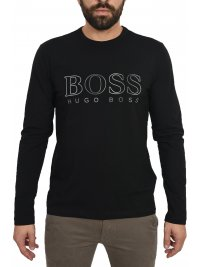 BOSS ATHLEISURE BOSS ATHLEISURE T-SHIRT  TOGN US ΜΑΥΡΟ