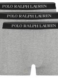 POLO RALPH LAUREN UNDERWEAR POLO RALPH LAUREN ΕΣΩΡΟΥΧΟ  3 PACK TRUNK  ΓΚΡΙ