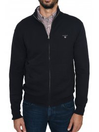 GANT GANT MAN ΠΛΕΚΤΟ FULLZIP COTTON WOOL CARDIGAN ΜΠΛΕ