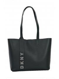 DKNY DKNY ΤΣΑΝΤΑ BEDFORD-L SHOPPING BAG ΜΑΥΡΟ/ΑΣΗΜΙ