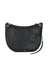 DKNY DKNY ΤΣΑΝΤΑ TOMPSON-CO HAND BAG BLK/SILVER
