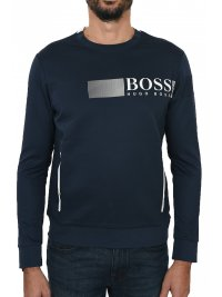 BOSS ATHLEISURE BOSS ATHLEISURE T-SHIRT MM POCKETS SALTECH ΜΠΛΕ