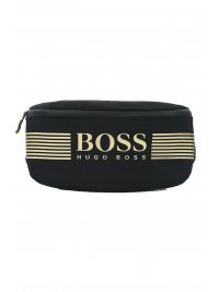 BOSS ATHLEISURE BOSS ATHLEISURE ΤΣΑΝΤΑΚΙ ΜΕΣΗΣ PIXEL WAIST BAG ΜΑΥΡΟ